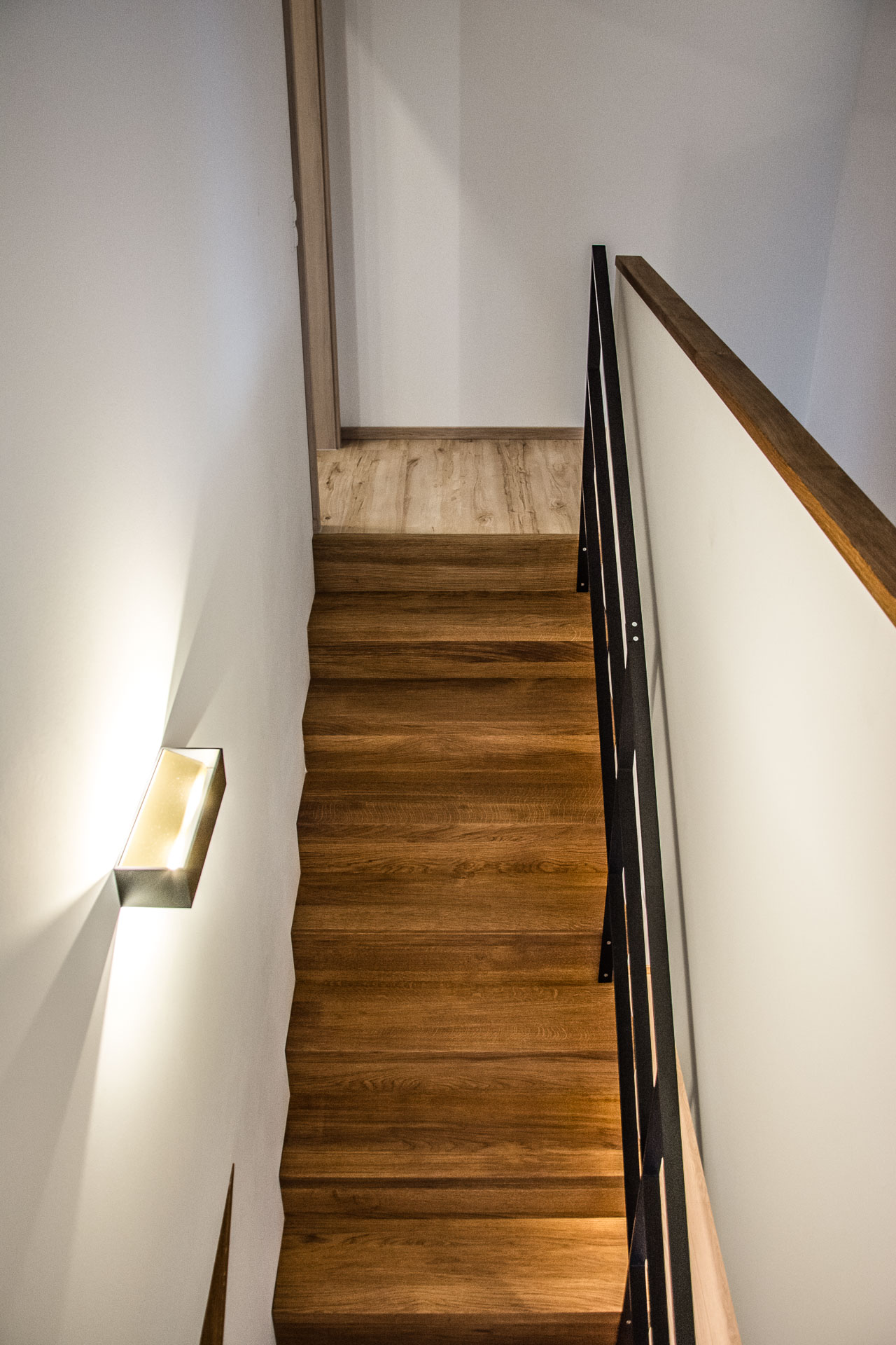 Musterhaus Treppe