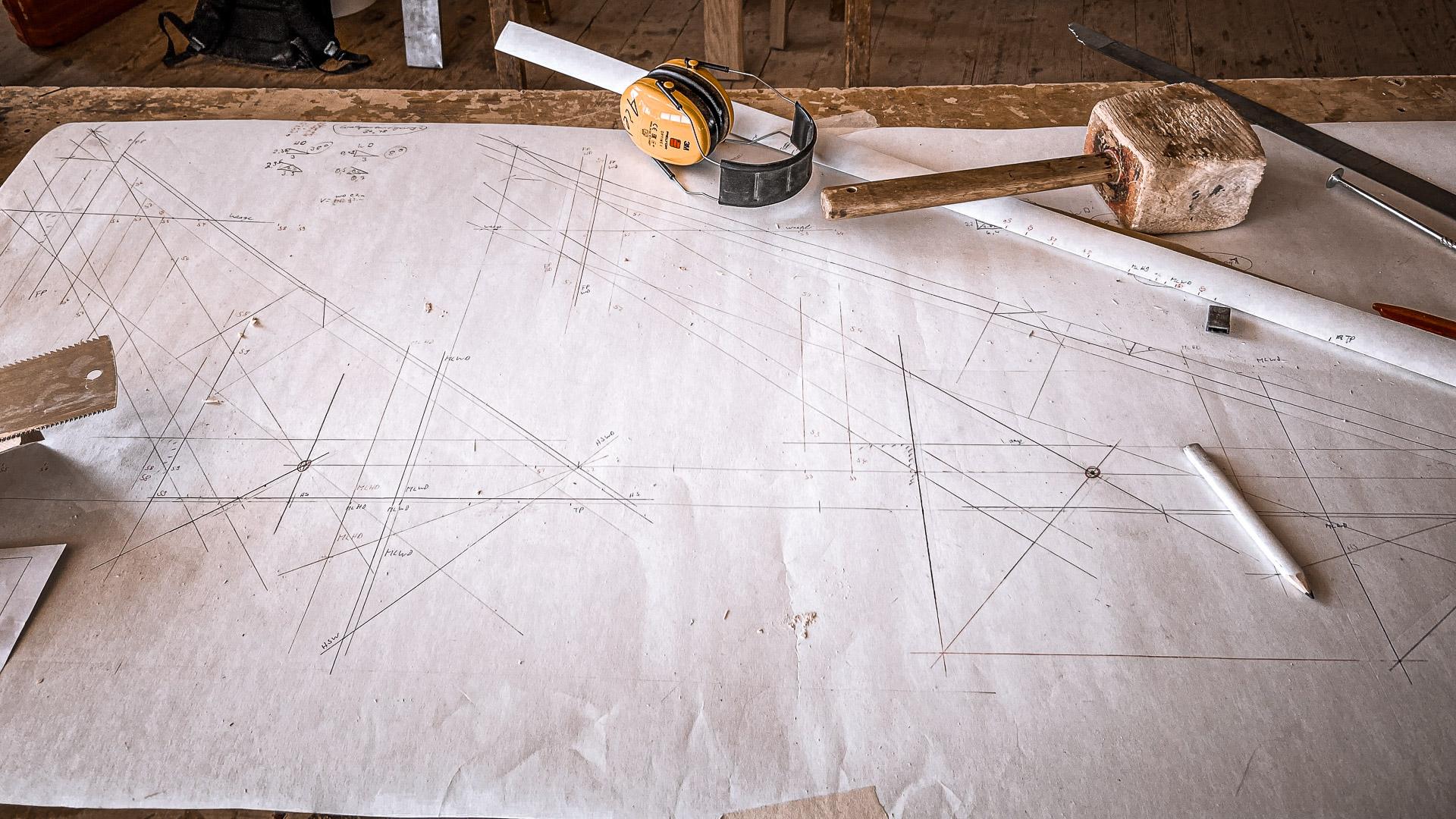 Weiterbildung Holzbau Schorr Zeichnung